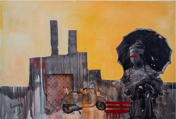The Migrant / Mixed media / 92x62 cm / ksh 65,000