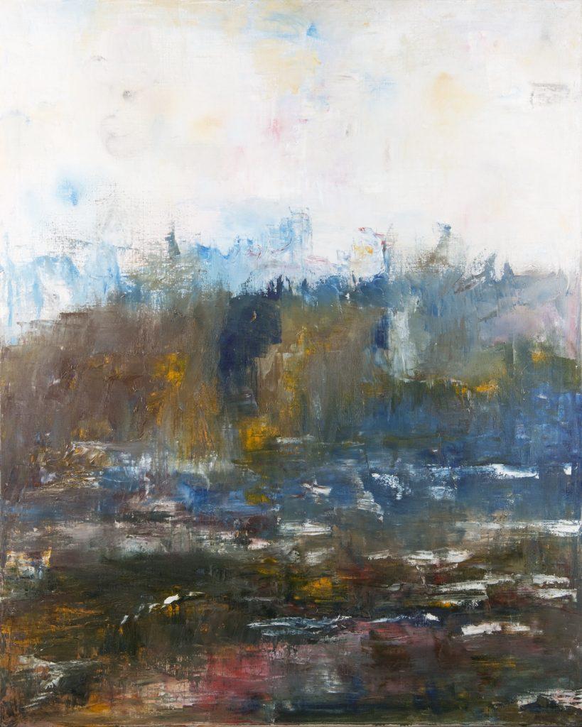 """Evening Breeze"" / Oil on canvas / 100 cm x 80 cm / Ksh. 65,000 / CODE RS:2016:0"